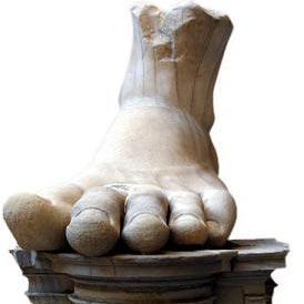 een voet - стъпало