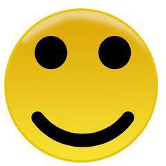 हंसमुख - ein lächelndes Gesicht