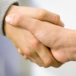 handen schudden - ръкостискане