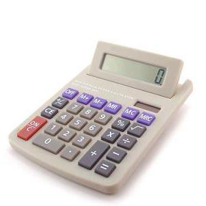 ένας υπολογιστής - una calcolatrice