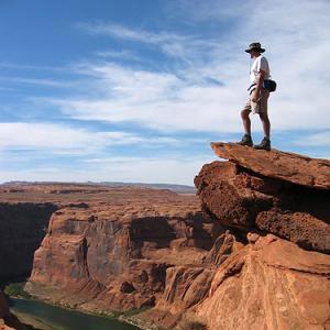 a tourist - турист