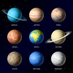 ένας πλανήτης - un pianeta