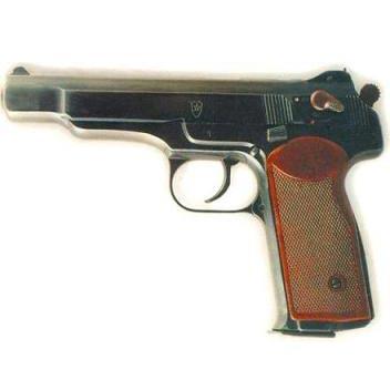 ένα πιστόλι - una pistola