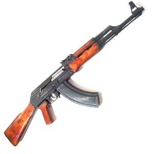 ένα πυροβόλο όπλο - una mitraglietta