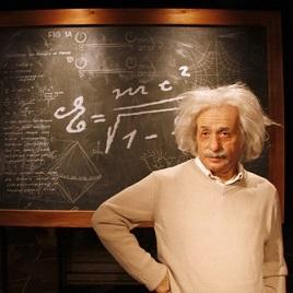 ένας φυσικός - en fysiker