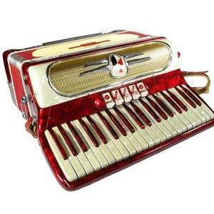 акордеон - ein Akkordeon