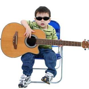 гітара - eine Gitarre
