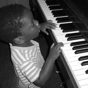 піаніно - ein Klavier