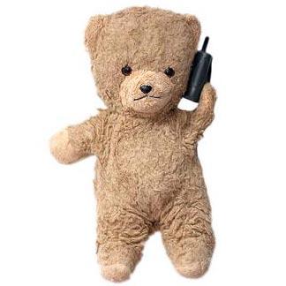 плюшевий ведмідь - ein Teddybär