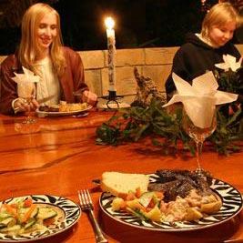 večera - o cină