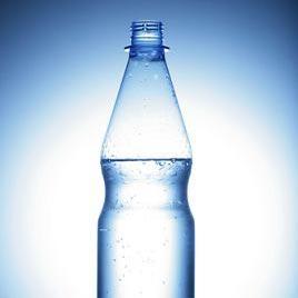 sebuah botol - бутилка