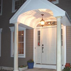 μια ισόγεια βεράντα - veranda