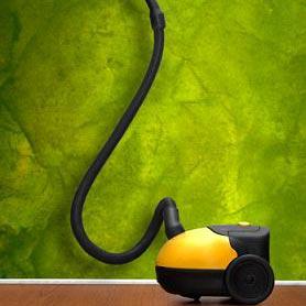 μια ηλεκτρική σκούπα - en støvsuger