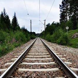 daanan ng tren - ทางรถไฟ