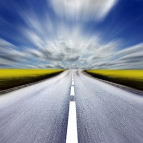sebuah jalan raya - uma auto-estrada