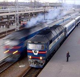 a train station - محطة قطارِ