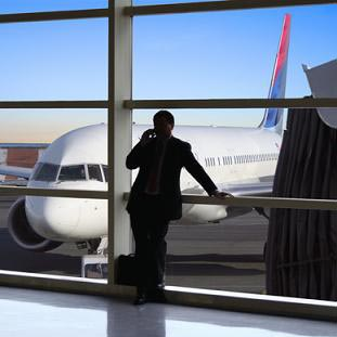 sebuah bandara - en flyplass