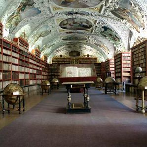 a library - ห้องสมุด
