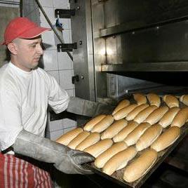 a bakery - ร้านเบเกอรี่