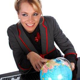 vojaĝagentejo - cestovní kancelář