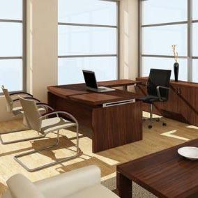 an office - مكتب