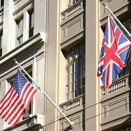 an embassy - سفارة