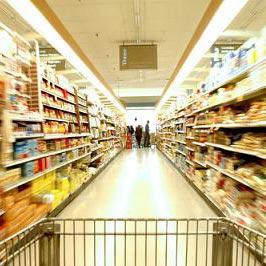 ซูเปอร์มาร์เก็ต - μια υπεραγορά