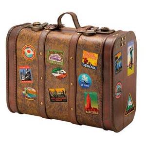 μια βαλίτσα - una valigia
