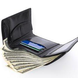 een portefeuille - портфейл