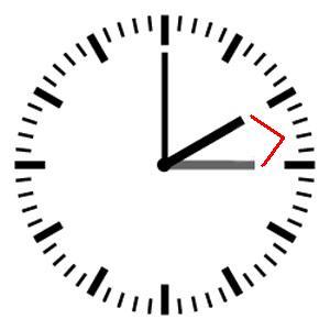 een uur - час