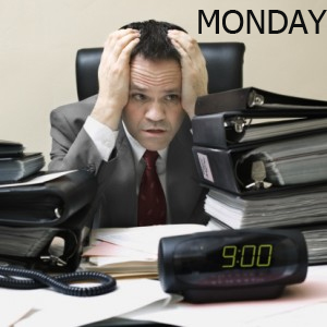 सोमवार - pondělí