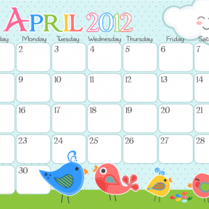 април - 4月