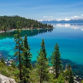 een meer - езеро