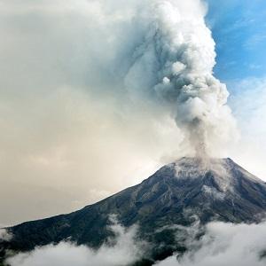 화산 - der Vulkan