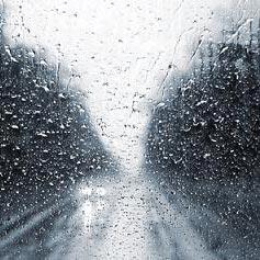 ฝนตก - Βρέχει.